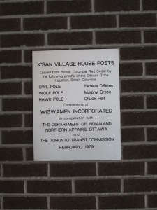 House Post Plaque
