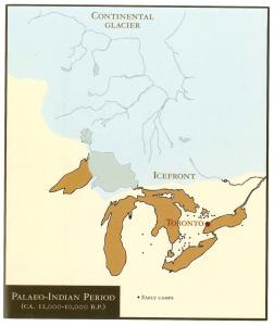 Early Paleolithic sites in the Great Lakes region