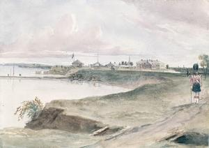 Fort York, August, 1839. Philip John Bainbridge (1817-1881)